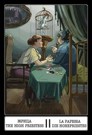 The Twelve Chairs Tarot