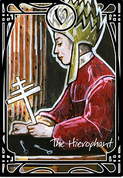 The Hierophant Tarot Card Meaning, Symbolism and Interpretation