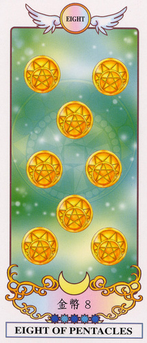 Eight of Pentacles Tarot Card Meaning, Symbolism and