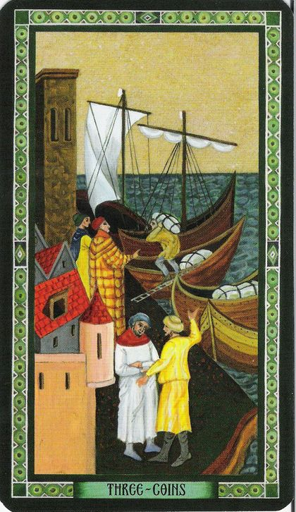 Three of Pentacles Tarot Card Meaning, Symbolism and