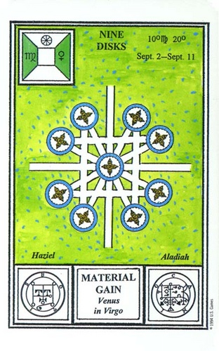 Nine of Pentacles Tarot Card Meaning, Symbolism and