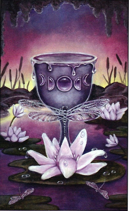 Ace of Cups Tarot Card Meaning, Symbolism and Interpretation | Chalices
