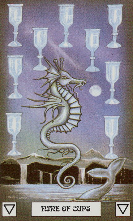 Nine of Cups Tarot Card Meaning, Symbolism and