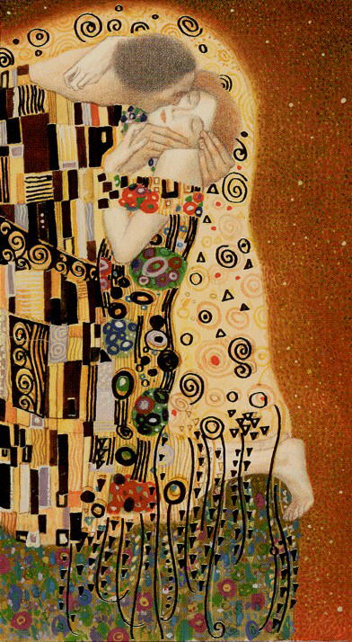 Golden Tarot of Klimt Cards