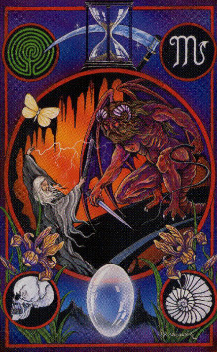 Lord of the Rings Tarot Cards
