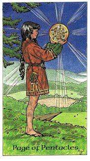 Page of Pentacles  - Robin Wood Tarot